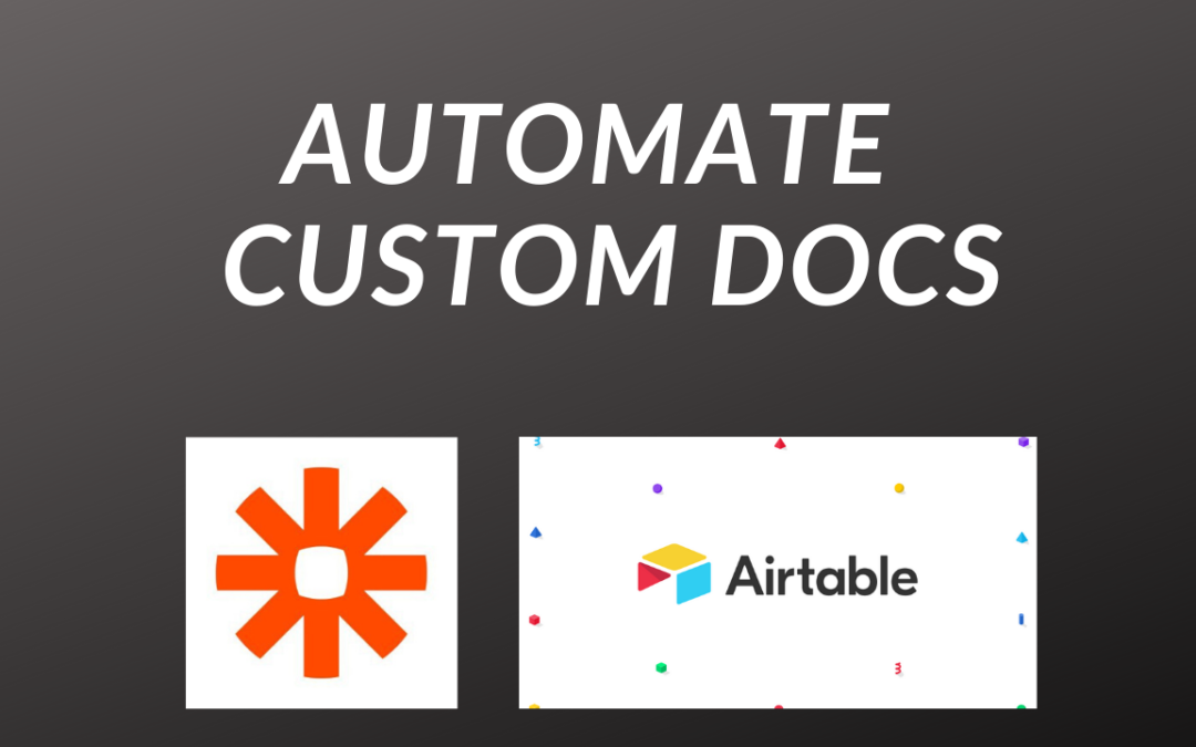 Automate Customer Documents