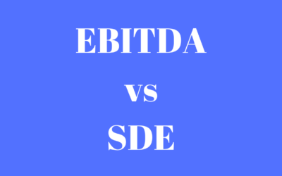 EBITDA vs SDE