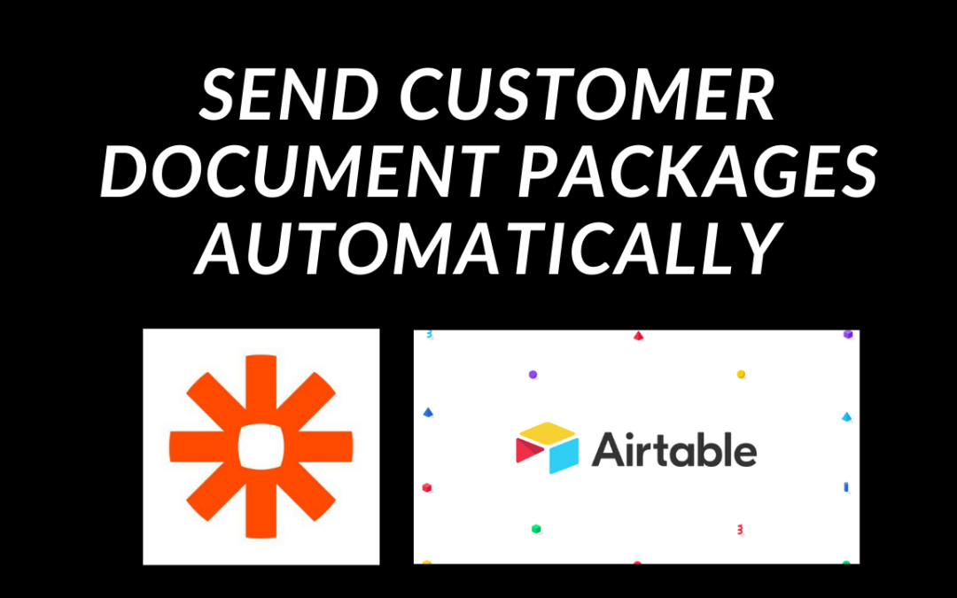 Send Customer Document Packages Automatically